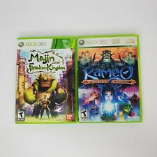 Xbox 360 Game lot of 2 Kameo Elements of Power & Majin and The Forsaken Kingdom