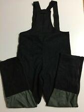 MINT USGI Peckham Military Overalls BIBS Polartec Fleece FR Men's L Black Green