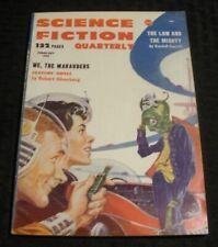 1958 Feb SCIENCE FICTION QUARTERLY Pulp Magazine v.5 #4 VG+ 4.5 Robert Silverber