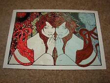 """MALLEUS Postcard Print YOKAI Witches 4.75X6.75/"""" poster art handbill"""