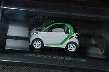 Minimax smart fortwo electric drive coupé C451 in kristallweiß M1:43 PC