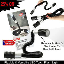 24 FLEXI LED LIGHT TORCH HANDFREE OPERATION GARAGE WORKSHOP CAMPING EMERGENCY