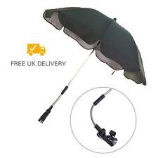 Black Compatible Sun Rain Parasol Umbrella Baby Car Pram Pushchair Canopy X