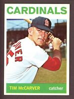 1964 Topps Baseball #429 Tim McCarver St. Louis Cardinals - LID001