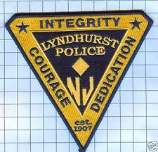 Police Patch  - New Jersey - Lyndhurst
