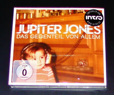 JUPITER JONES DAS GEGENTEIL VON ALLEM DELUXE EDITION CD + DVD  NEU & OVP