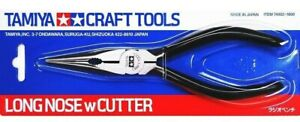 Tamiya Craft Tools  Long Nose Pliers With Cutter 74002 Made in Japan
