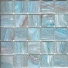 25pcs GM87 Pastel Blue Bisazza Le Gemme Italian Glass Mosaic Tiles 2cm x 2cm