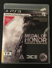 Medal Of Honor - Limited Edition (Sony Playstation 3, 2010)  Tested & Complete!
