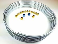 "25 Ft Roll 1/4"" Brake Line Kit with 16 Fittings"