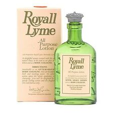 Royall Lyme Cologne by Royall Fragrances, 8 oz All Purpose Lotion men NEW