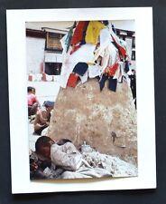 Tirage Original - Tibet - Superbe Photographie - Circa 1980 - Scène de Vie