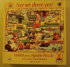 SunsOut Jigsaw Puzzle KOA Are We There Yet 1000 Pieces Kate Ward Thacker