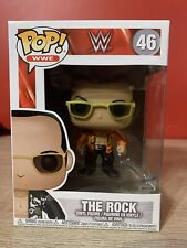 "New ListingFunko Pop! Wwe: Dwayne ""The Rock"" Johnson (Orange Jacket) #46 Great Condition"