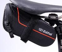 ZEFAL Z LITE PACK BICYCLE SADDLE BAG BLACK MEDIUM