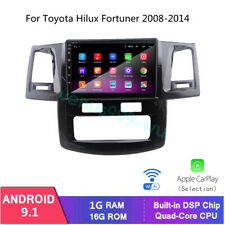 """9"""" Android 9.1 Car DVD Player GPS Navigation For Toyota Hilux Fortuner 2008-2014"""
