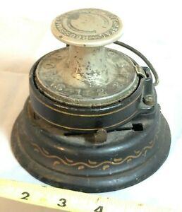 Antique 1898 THE ROYAL Check Protector Rouss Mfg. Co. NY - Rare Piece!