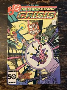 Crisis On Infinite Earths #4 - Death Of The Monitor (DC) Free Combine Shipping