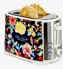 The Pioneer Woman Fiona Floral Extra-Wide Slot 2-Slice Toaster