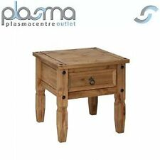 Core Products CR906 Classic Corona 1 Drawer Lamp Table - Rustic Pine
