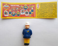 "Zaini  "" Fireman Sam "" - Figur Feuerwehrhauptmann Norris Steele - mit BPZ 2017"