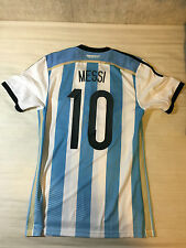 Argentina 14/15 Player Issue Home Short Sleeve Shirt