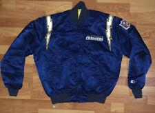 New listing Vintage NFL San Diego Chargers Pro Line Starter Jacket Stitched Bolts Sz Large