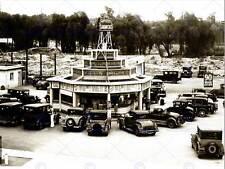 Vintage PHOTOGRAPHY Carpenter Laufwerk in Sunset Vine LOS ANGELES USA PRINT cc2303