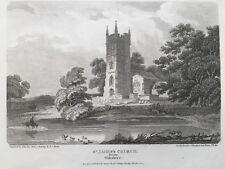 1807 Antique Print; St James's Church, Devizes, Wiltshire after J.C. Smith