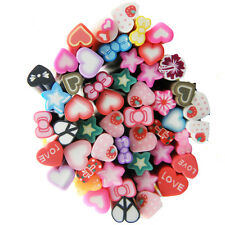 Fimo nail art accessories ebay hot 50pcs nail art decals mixed styles fimo cane polymer clay rods stickers diy fruit prinsesfo Choice Image