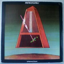 RAYMOND VINCENT Metronomics RARE LP 1973 psych WALLACE COLLECTION / ESPERANTO