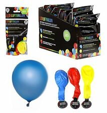 Led Luftballons rot blau gelb Party Hochzeit Leuchtballons Dekoration