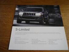 JEEP CHEROKEE S LIMITED SALES BROCHURE   jm