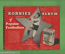 #T40. 1950 KORNIES ALBUM OF POPULAR FOOTBALLERS WITH ALL CARDS