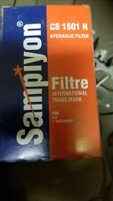 Lot of 6 Sampiyon CS 1501 H Trans& Hyd Filters. Same as Fleetguard HF 6610