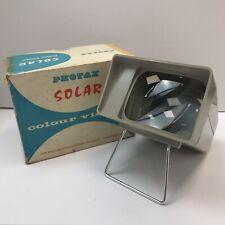 Photax Solar Colour Viewer 14.5cm x 12cm Vintage Retro 1960s Original Box 053151
