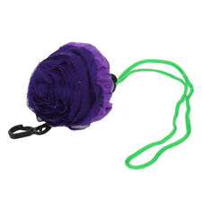 Purple Rose Shaped Foldable Recycling Eco-friendly Carry Shopping Hand Bag CS
