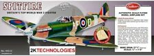 """Guillows 403 LC Spitfire 1:16 Scale (3/4"""" =1') Balsa Wood Kit -27 5/8"""" Wing Span"""
