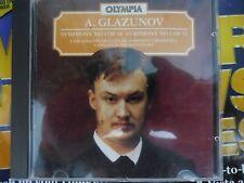 glazunov cd symphonies 4/5 russian symphony