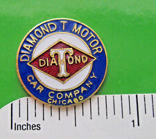 DIAMOND T  Automobile - hat pin , hatpin , lapel pin , hatpin GIFT BOXED