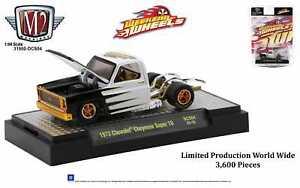 M2 Machines 2021 Weekend of Wheels DCS04 '73 Chevy Cheyenne Super 10