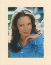 Jaclyn Smith Charlies Angels Original Signed 10x8 Mounted Autograph Photo
