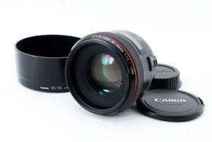 [Mint] Canon EF 50mm F/1.2 L USM AF Lens From Japan