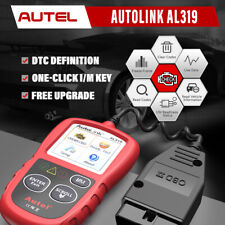 Autel AutoLink AL319 OBD2 II CAN Code Reader Car On-Board Diagnostic Tool Engine