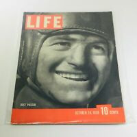 Vintage Life Magazine: October 24 1938 - Best Passer