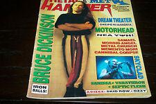 METAL HAMMER MAGAZINE 7/1994 BRUCE DICKINSON MOTORHEAD CANNIBAL CORPSE