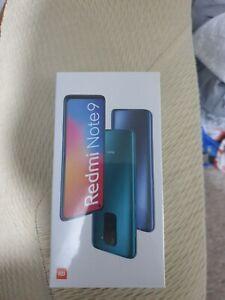 Xiaomi Redmi Note 9, Midnight Grey, 64gb+3gb, Entsperrt (Neu, Verpackt & Versiegelt)