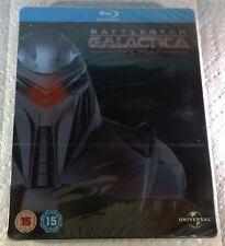 Battlestar Galactica The Plan (2010, UK, Region Free) Steelbook NEW