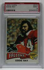 1975 Topps #472 Eddie Ray Atlanta Falcons PSA 9 MINT