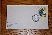 January 1980 First Day Cover British Birds: Kingfisher 10p; Slimbridge Postmark